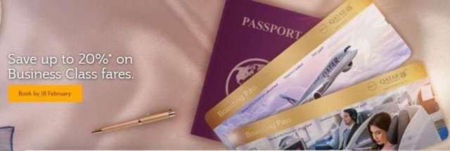 Qatar Airways Launches Premium Companion Offer