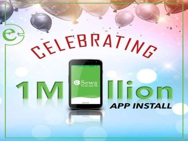 eSewa App Downloaded 1 Million Times