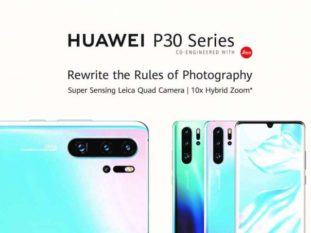Huawei P30 Series Launched