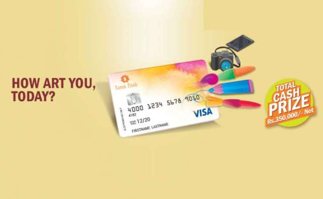 Unleash your creativity & help Laxmi Bank design their VISA cards