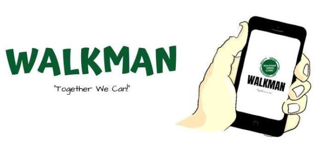 Walkman Green Coins