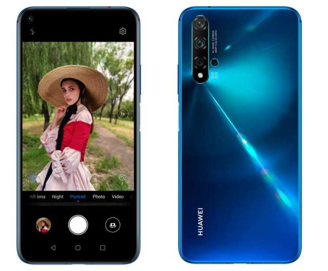 Huawei Launches Nova 5T