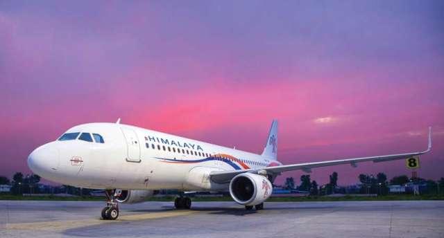 Brand new A319 Aircraft of Himalaya arrives in Kathmandu