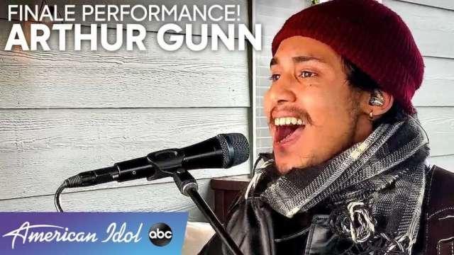 Arthur Gunn bags the runner-up title on American Idol.