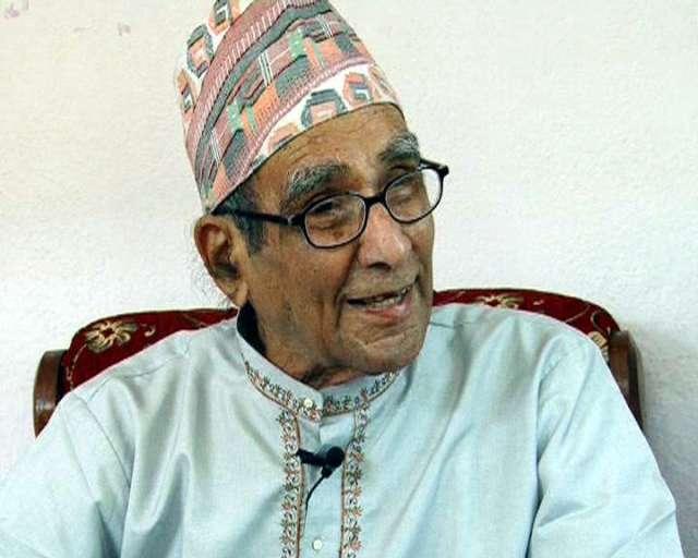 'Rashtra Kavi' Madhav Prasad Ghimire passes away