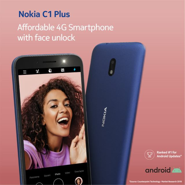 Nokia Launches C1 Plus