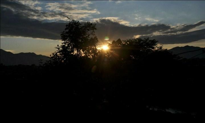 काठमाडौँ कीर्तिपुरबाट देखिएको दुश्य