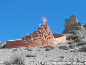 circuit des monastères du mustang