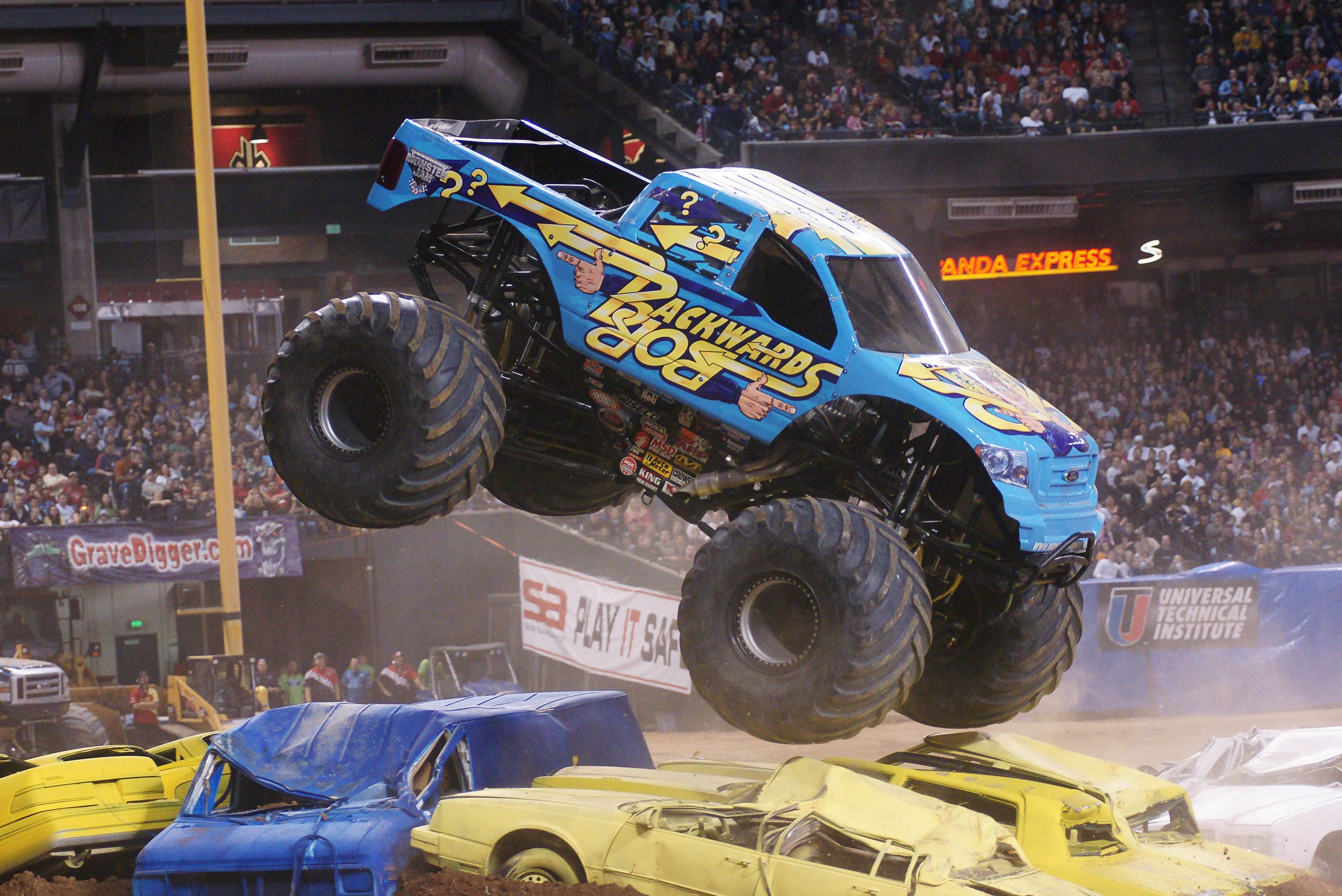 Monster Jam Drives Through Mohegan Sun Arena In Wilkes