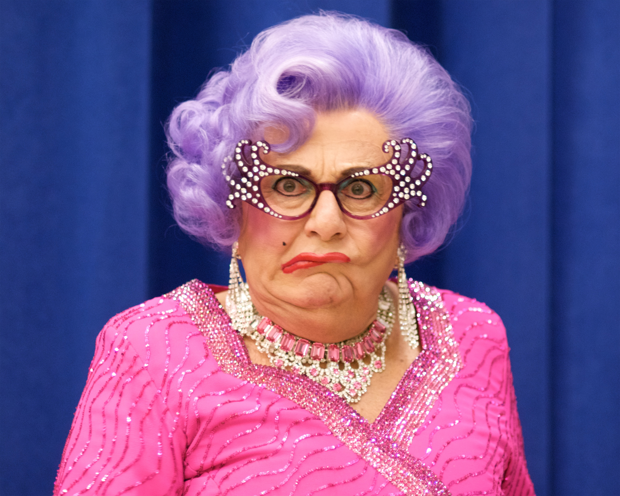 LIVING YOUR TRUTH Barry Humphries Aka Dame Edna May