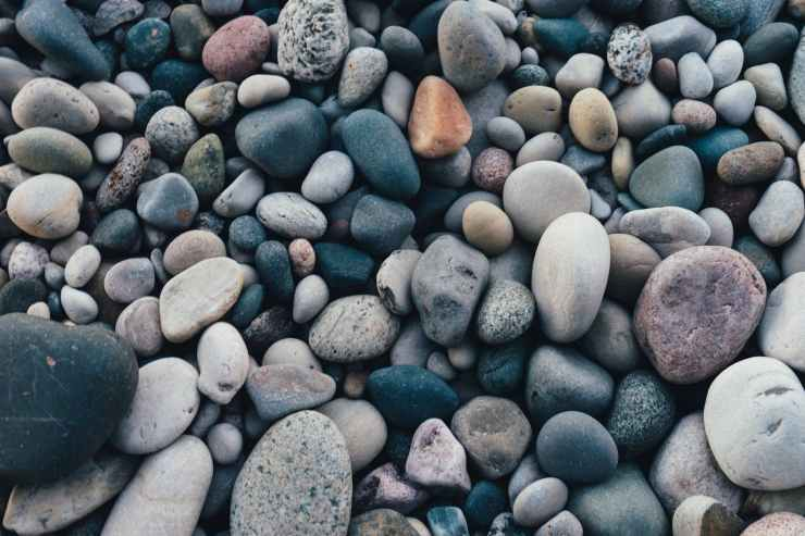 photography of stones
