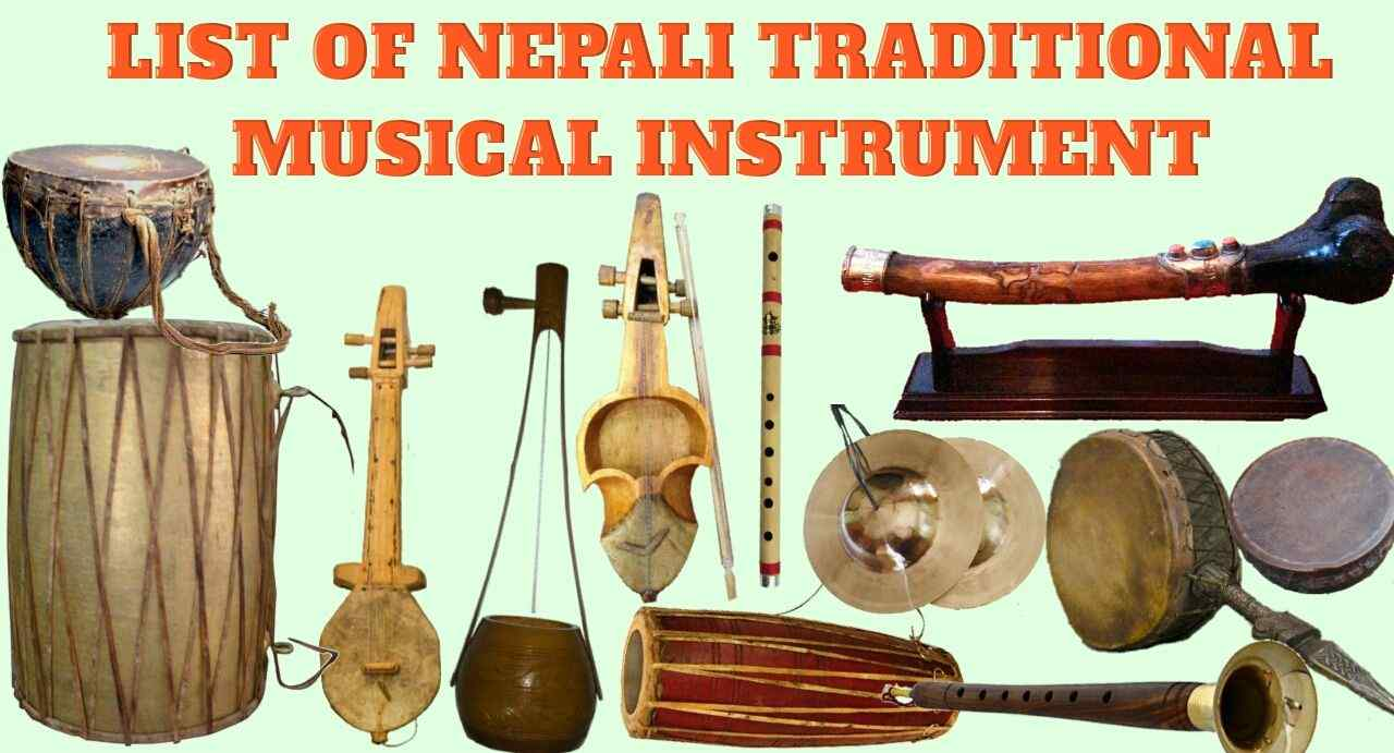 List of Nepali Folk and Traditional Musical Instruments | Importance of Folk Musical Instruments | Neplych