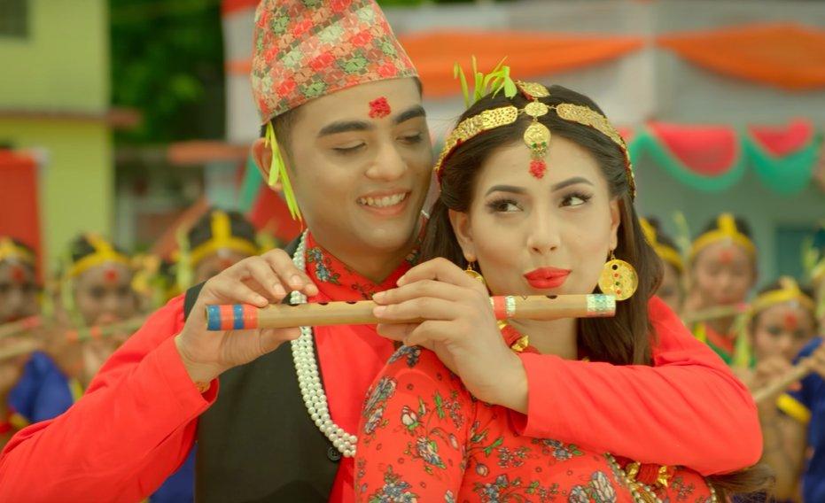 Rato Tika Nidhar Ma Lyrics | Rato Tika Nidhar Ma Movie Title Song | Ankit Sharma, Samragyee RL Shah