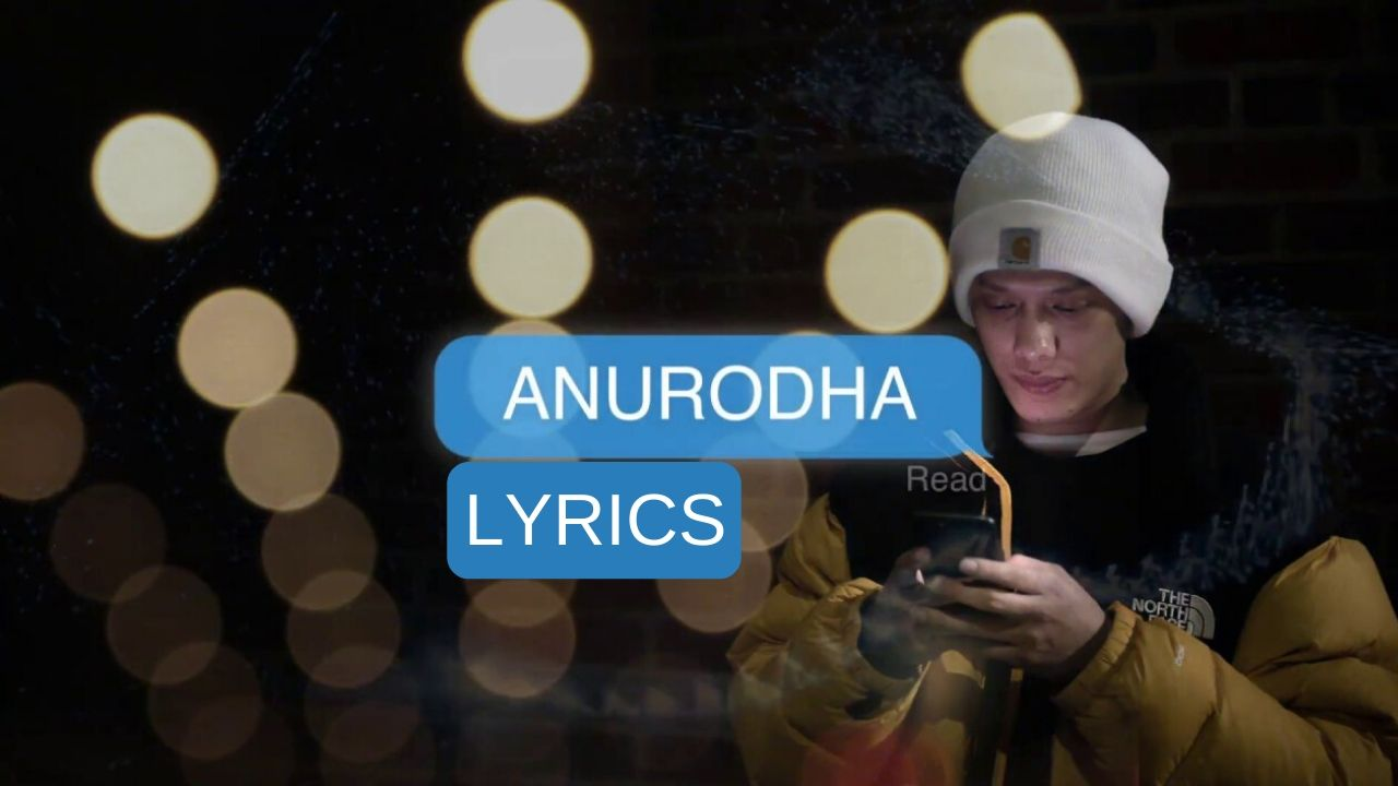 Anurodha Lyrics – (A request) Bikki Gurung