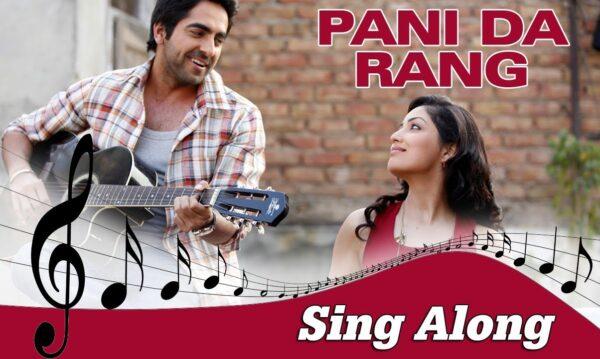 Pani Da Rang Lyrics – Ayushmann Khurrana