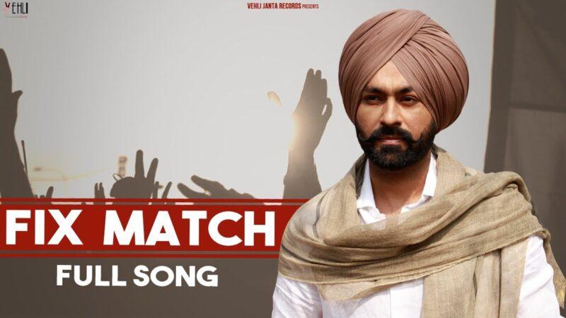 Fix Match Lyrics – Tarsem Jassar