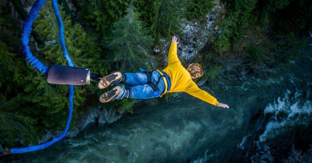 world famous bungee jump spot