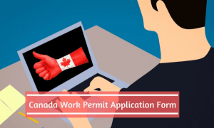 canada work permit application form