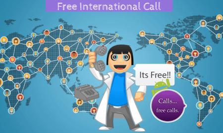 how to make free international call