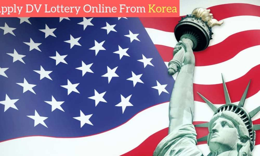 DV Lottery 2020 online registration from Korea