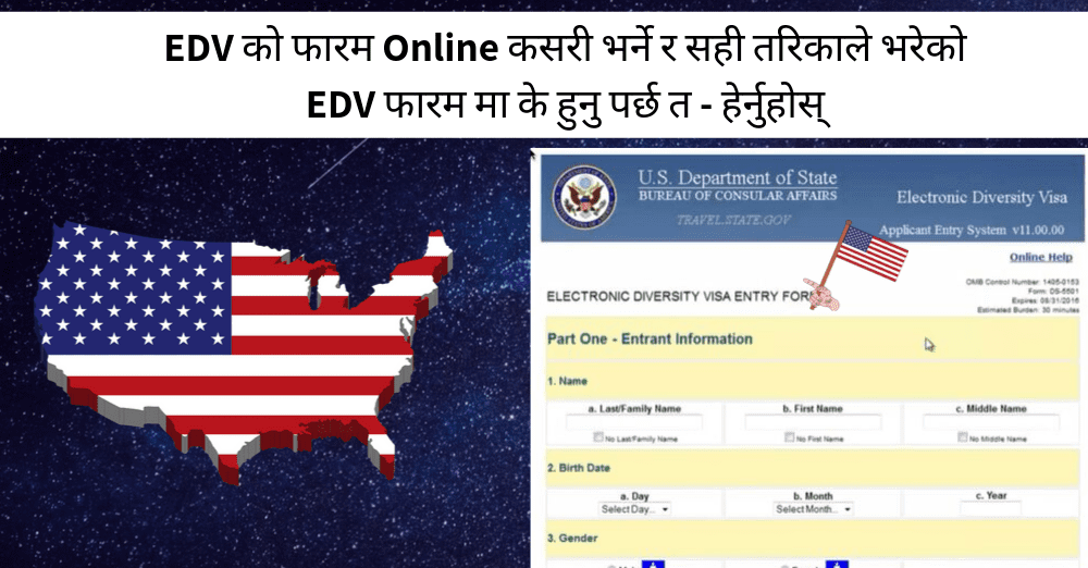 information required for dv lottery form online registration