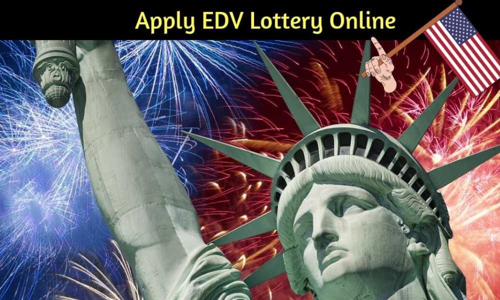 fill edv lottery online free registration for 2020