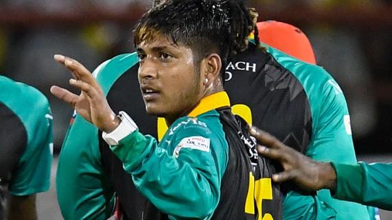 Sandeep Lamichhane CPL