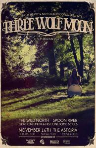 three wolf moon poster