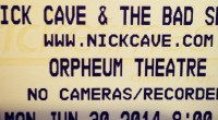 Are you aNick Cave & The Bad Seedsfan? A BIG Nick Cave fan? Well then we have one amazing opportunity for you! We are giving away a pair of FRONT […]