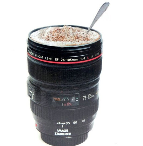 Coffee Lens Emulation Camera Mug