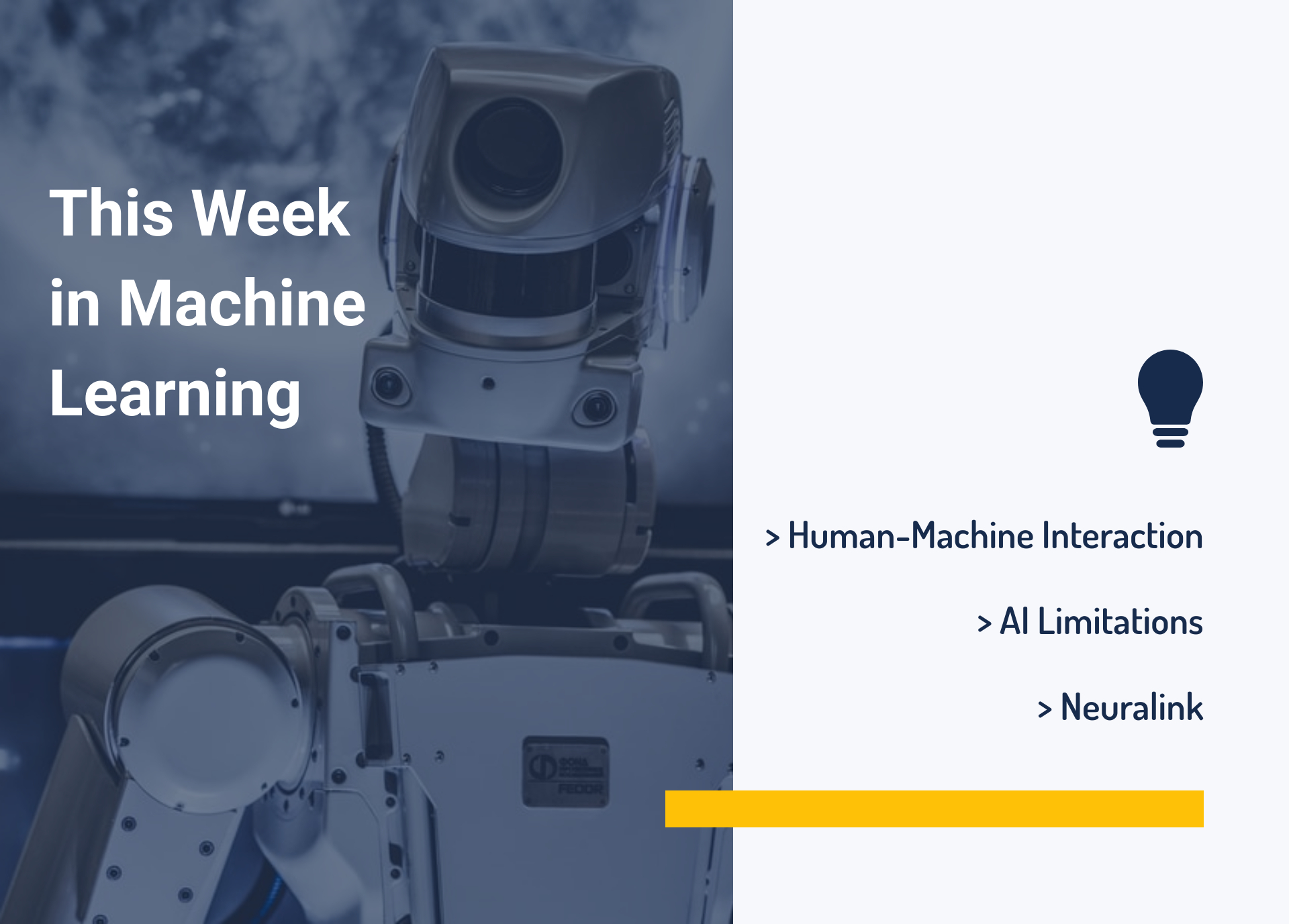 This Week in Machine Learning: Human-Machine Interaction, AI Limitations, and Neuralink