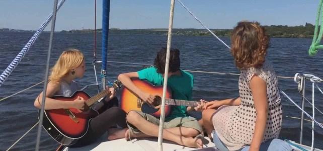 Гурт «Стиглі груші» Кавер на пісню «Човен»
