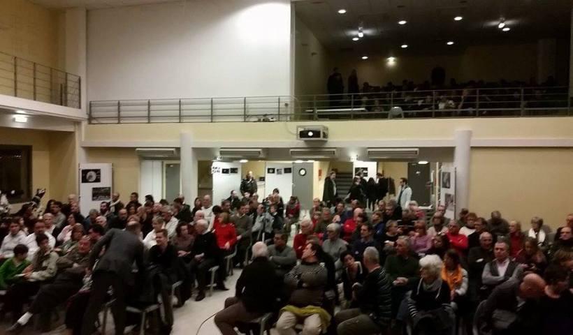 La Salle des Fêtes est remplie