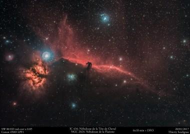 IC 434 et NGC 2024 V2