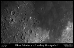 Landing site Apollo 11