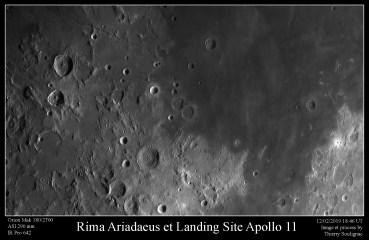 Landing site Apollo 11