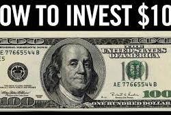 how to invest $100