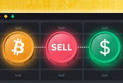 how to sell cryptocurrency