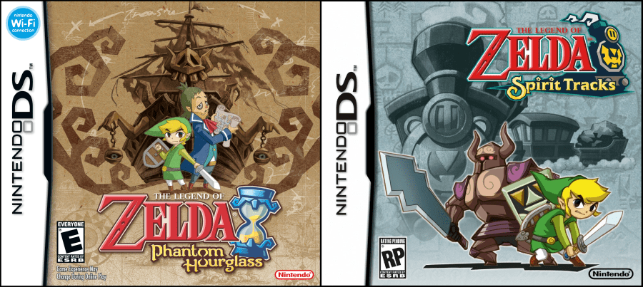 Legend of Zelda for DS     Nerblo LoZ DS games