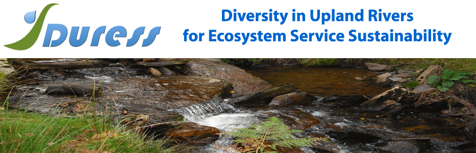 NERC Duress – Diversity in Upland Rivers for Ecosystem Service Sustainability