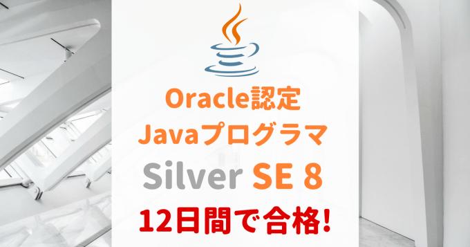 Java Silver合格体験談