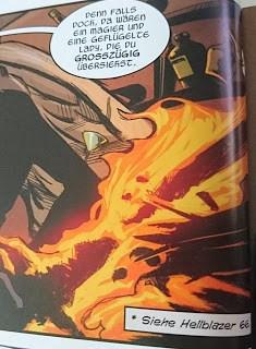 Lucifer Verweis auf Hellblazer