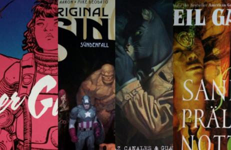 Montagsfrage: Liest du nur Romane, oder auch Comics, Manga etc.?