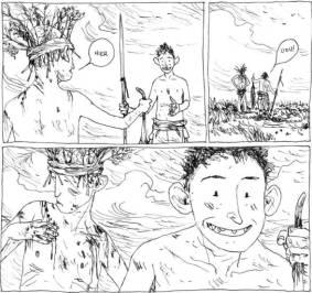 Die Welt der Söhne, Avant Verlag, Ausschnitt Seite 11