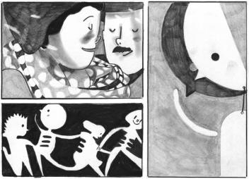Lichtung, Reprodukt, Ausschnitt Seite 69