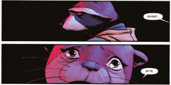 Rocket, Panini, Ausschnitt Seite 9