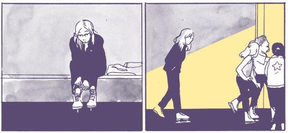 Pirouetten, Repridukt, Ausschnitt Seite 8