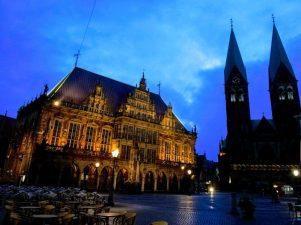 Marktplatz, Sicht von der Böttcherstraße heute