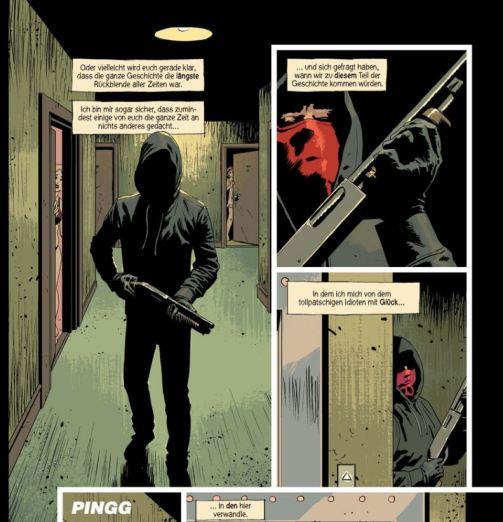 Kill or be killed 3, Splitter Verlag, Ausschnitt Seite 6