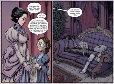 Lady Mechanika 4, Splitter Verlag, Ausschnitt Seite 11